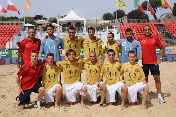 Сборная Испании по пляжному футболу