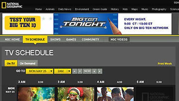 Телеканал National Geographic