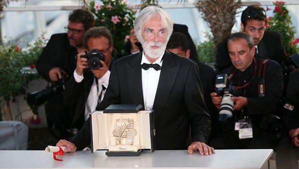Режиссер Михаэль Ханеке получил главный приз - Золотую пальмовую ветвь - 62-го Каннского кинофестиваля