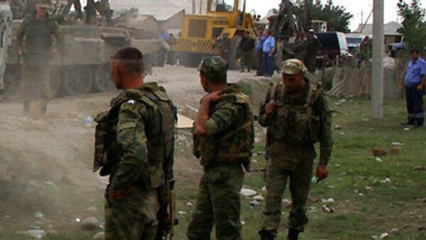 При взрыве у поста милиции близ Назрани никто не пострадал