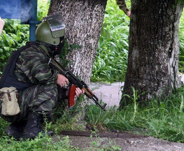 При спецоперации в Махачкале убит боевик