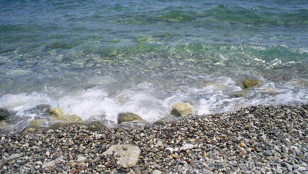 Берег Средиземноморья, архивное фото