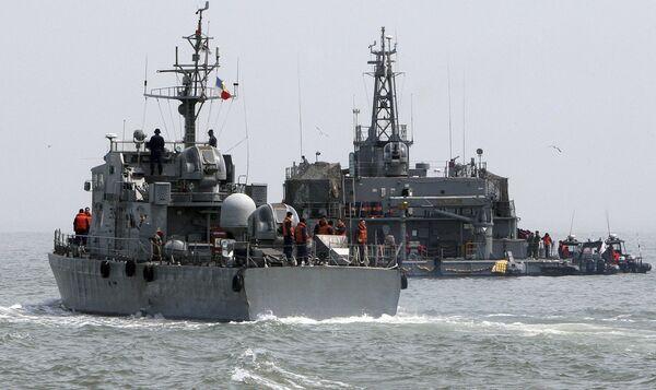 Южнокорейские военные суда близ западной морской границы с КНДР