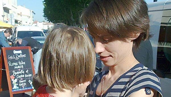 Россиянка Ирина Беленькая встретилась с дочерью Лизой