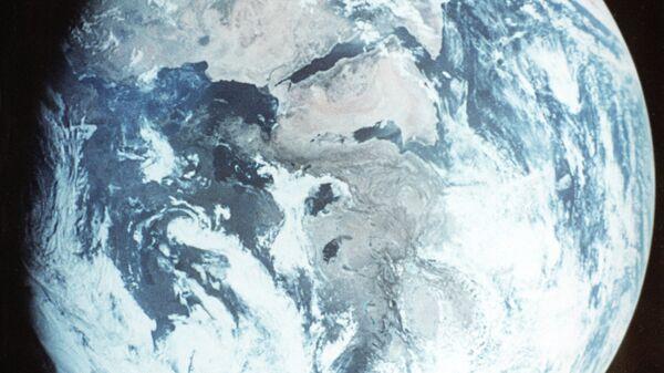 Снимок Земли из космоса.