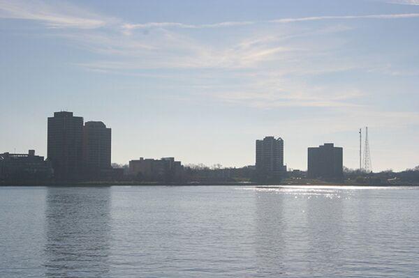 Вид Детройта