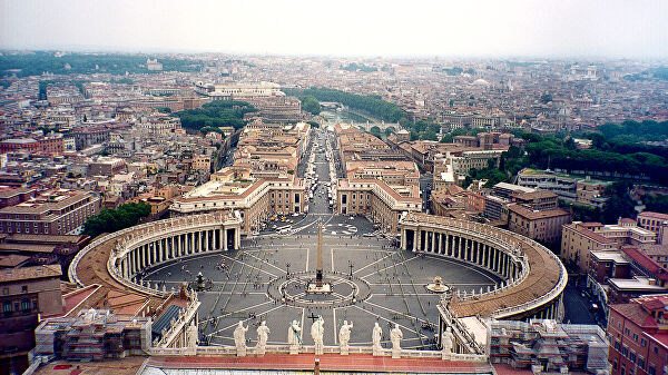 Панорама Рима. Архив