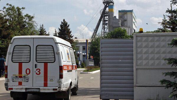 Машина скорой помощи на Украине. Архивное фото