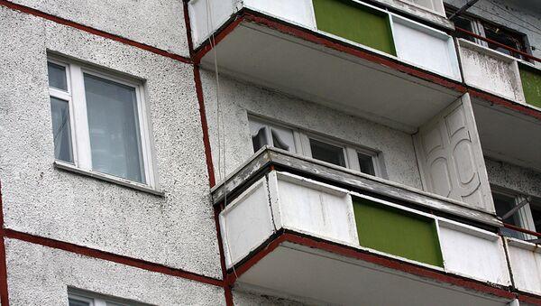 Балконы. Архивное фото