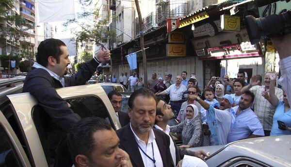 Экс-премьер Ливана Рафик Харири Саад