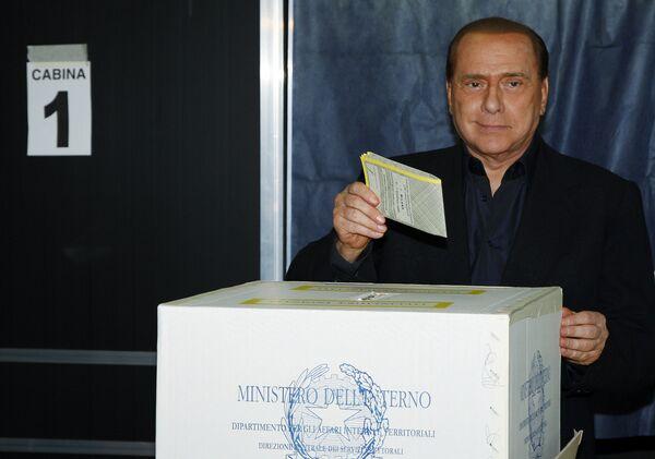 Председатель Совета министров Итальянской Республики Сильвио Берлускони
