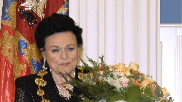 Людмила Зыкина награждена орденом Св.Ап. Андрея Первозванного