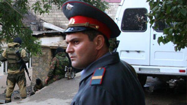 Спецоперация по ликвидации боевиков в Махачкале