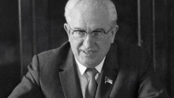 Председатель КГБ СССР Юрий Андропов