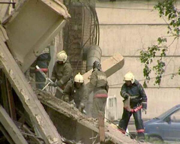 Трое погибли при обрушении офисного здания в Красноярске
