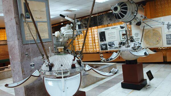 Модель космической станции. Архив
