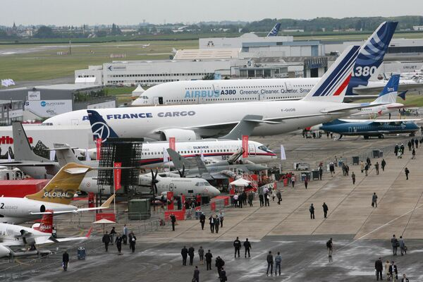 Международный авиакосмический салон в Ле-Бурже