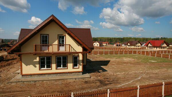 Строительство коттеджей в дачном поселке