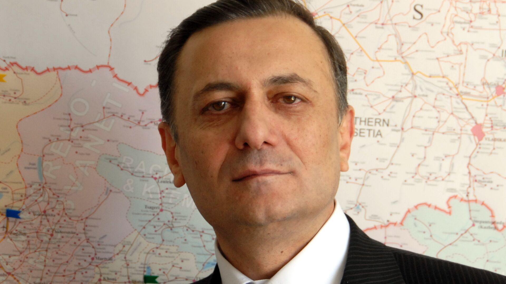 Шалва Нателашвили, председатель Лейбористской партии Грузии - РИА Новости, 1920, 29.04.2021
