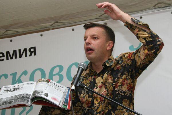 Тележурналист Леонид Парфенов