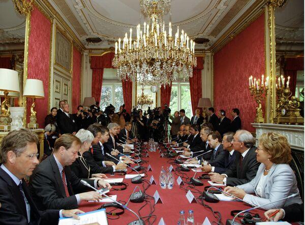 Российско-нидерландские переговоры