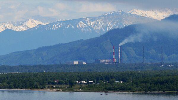 Вид на город Байкальск