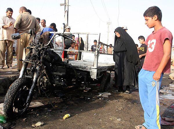 Взрывы прогремели на востоке Багдада, не менее восьми человек погибли