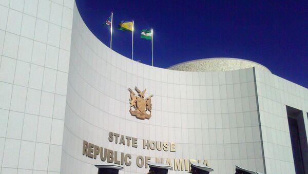 У Государственного дома приемов Республики Намибии. Архивное фото