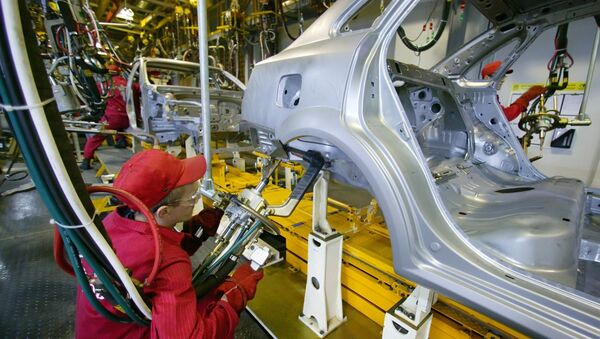 Запуск производства Chevrolet Lacettii автоконцерном General Motors в Калининграде