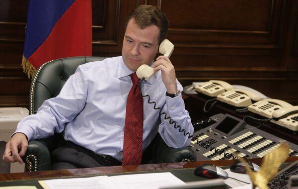 Медведев и Обама отметили прогресс в процессе подготовки нового договора по СНВ