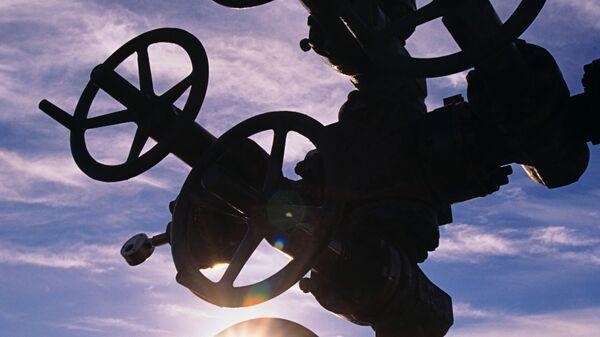 На нефтяной скважине