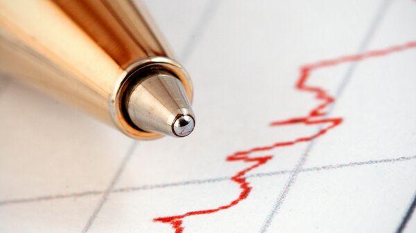 График изменения фондовых индексов. Архив