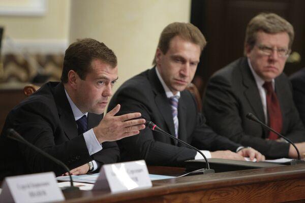 Медведев дал правительству ряд энергоэффективных поручений
