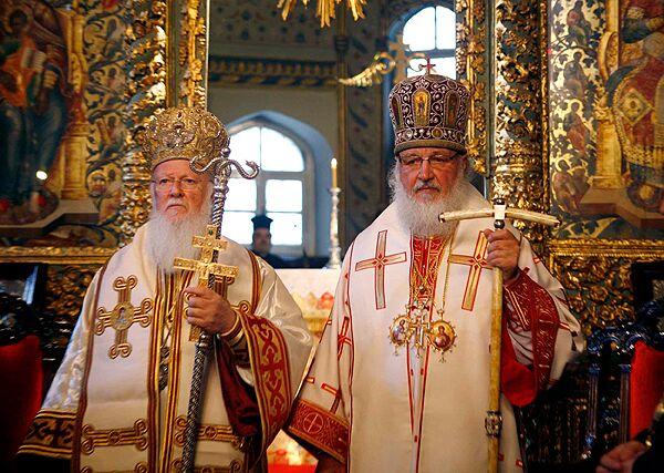 Патириарх Кирилл в Турции