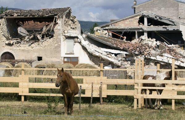 Новое землетрясение произошло близ Аквилы, где пройдет саммит G8