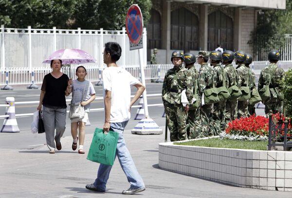 В Синьцзян-Уйгурском автономном районе Китая
