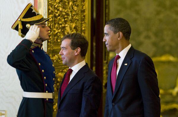 РФ и США готовы способствовать решению глобальных проблем - Медведев