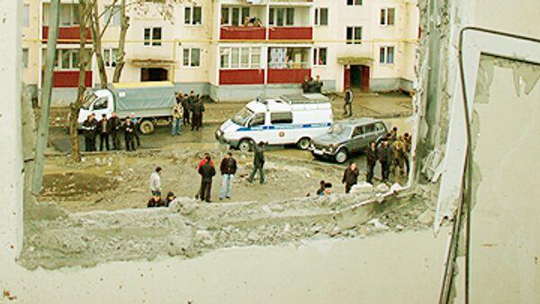 Взрыв произошел в Грозном