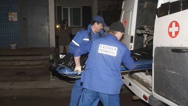 Сотрудники бригады скорой помощи