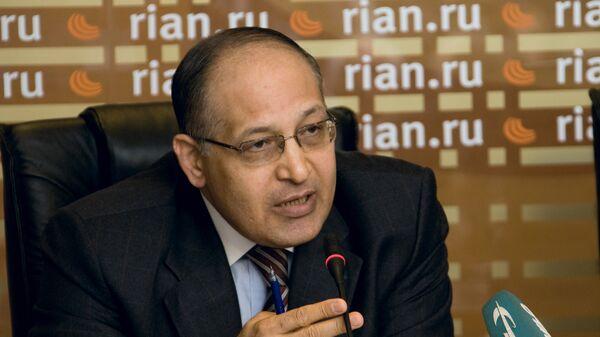 Бывший чрезвычайный и полномочный посол Арабской Республики Египет в РФ Иззат Саад