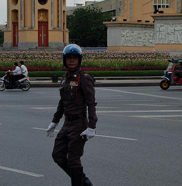 Полиция Тайланда. Архивное фото