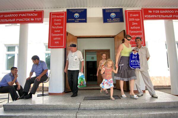 Выборы президента Киргизии