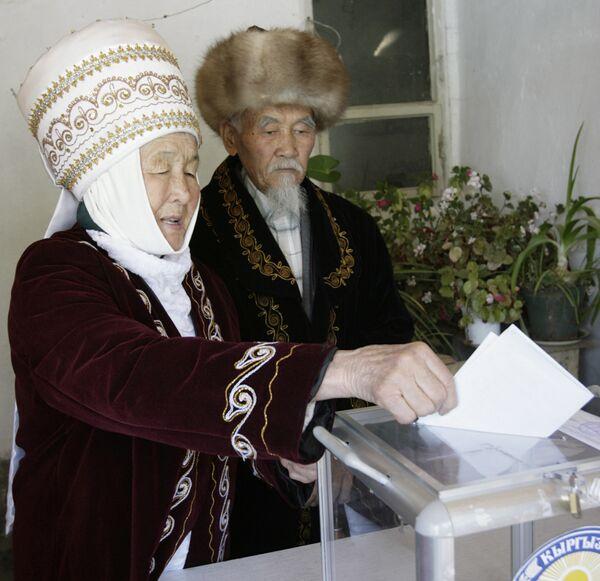 Выборы президента в Киргизии