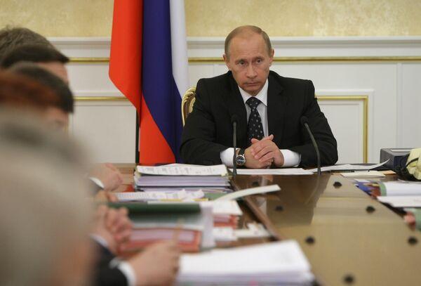 Премьер-министр России В.Путин обещал господдержку компании АЛРОСА перед кредиторами