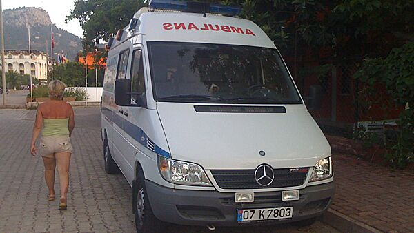 Одиннадцать россиян, по уточненным данным, пострадали в ДТП в Анталье