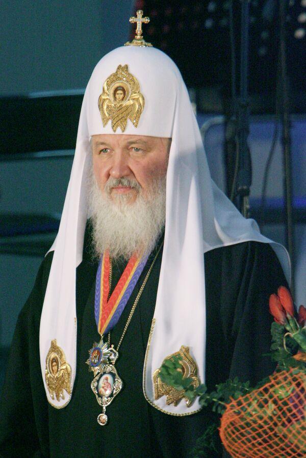 Уровень воцерковления в России и на Украине растет - патриарх Кирилл