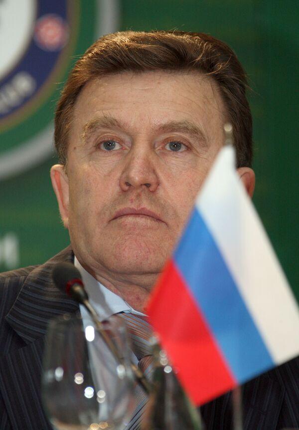 Президент ФК «Локомотив» Николай Наумов