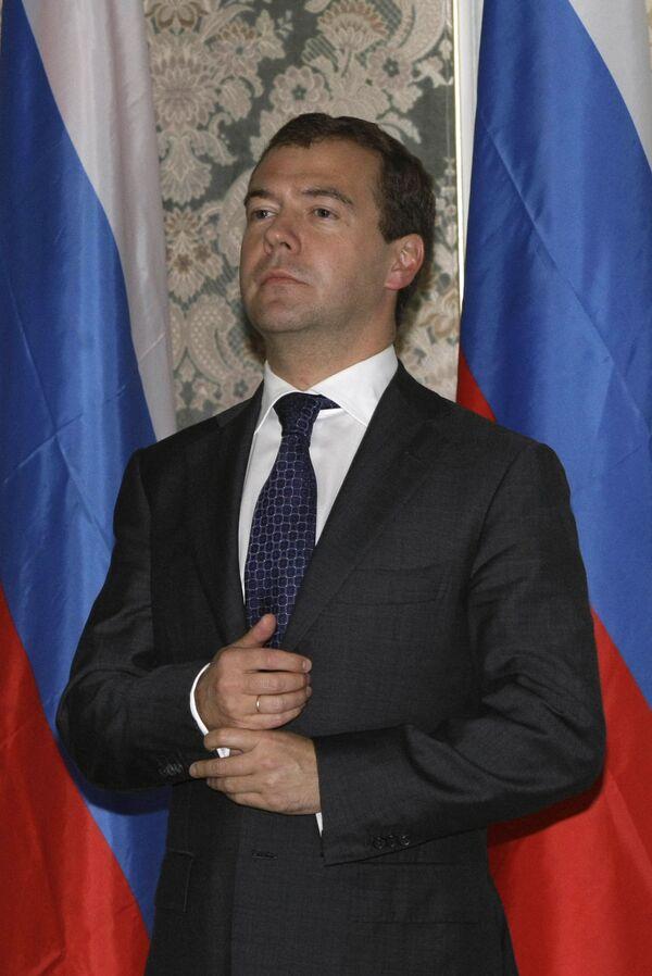 Медведев соболезнует в связи с кончиной экс-президента Филиппин Акино