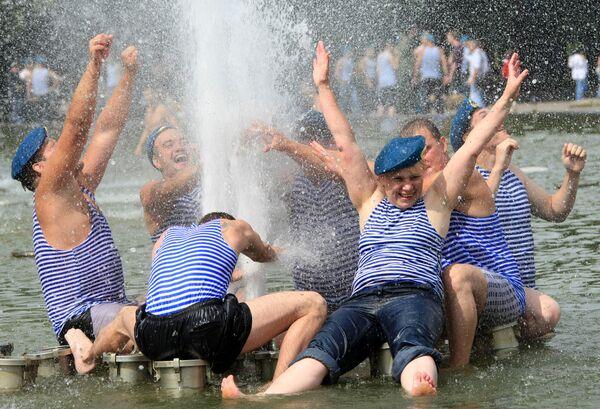 День Воздушно-десантных войск в Москве