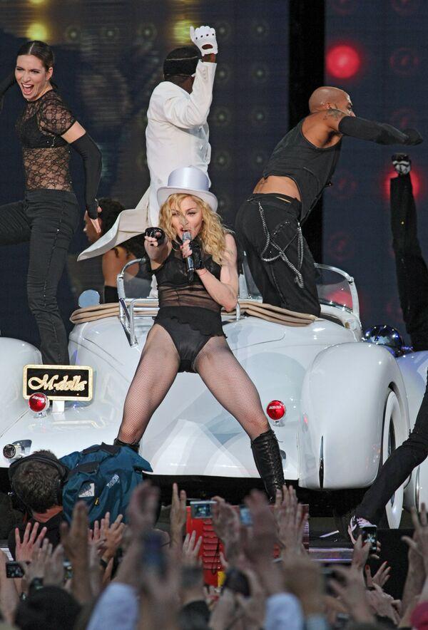 Концерт Мадонны. Архив